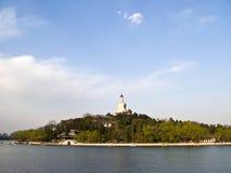 Parque do beihai do â da porcelana de Beijing Imagens de Stock Royalty Free