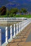 Parque do beira-rio   foto de stock