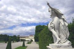 Parque do Belvedere de Wien imagens de stock royalty free
