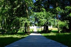 Parque do castelo Imagens de Stock