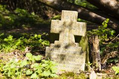 Parque do cemitério das aldeolas da torre em Londres, Reino Unido fotografia de stock