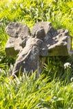 Parque do cemitério das aldeolas da torre em Londres, Reino Unido imagem de stock