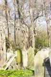 Parque do cemitério das aldeolas da torre em Londres, Reino Unido imagens de stock