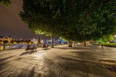 Parque do centro de cidade de Londres Foto de Stock Royalty Free
