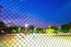 Parque do esporte na balaustrada Fotografia de Stock