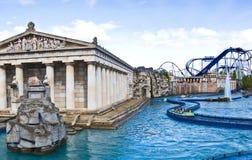 Parque do Europa, Alemanha - área temático grega imagem de stock
