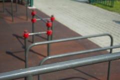 Parque 3 do exercício imagem de stock