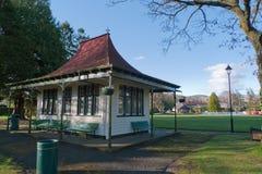 Parque do festival, Moffat, Scotland fotografia de stock