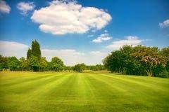Parque do golfe foto de stock