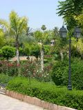 Parque do hasna de Lalla em C4marraquexe Marrocos Foto de Stock