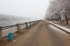 Parque do inverno Foto de Stock Royalty Free