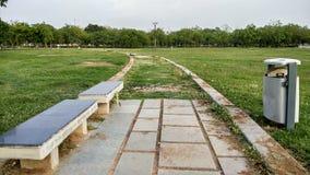 Parque do jardim p?blico imagens de stock
