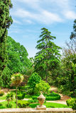 Parque do labirinto de Horta em Barcelona, Catalonia, Espanha Fotografia de Stock Royalty Free