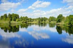 Parque do lago lettuce imagens de stock royalty free