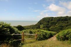 Parque do leste do país do monte, Hastings Imagens de Stock Royalty Free