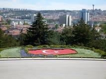 Parque do mausoléu de Ataturk em Ancara Imagem de Stock Royalty Free