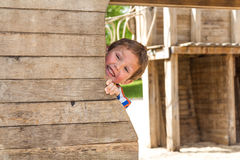 Parque do menino na primavera, Luxemburgo Imagens de Stock
