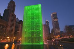 Parque do milênio, Chicago Fotos de Stock Royalty Free