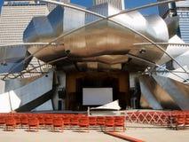 Parque do milênio de Chicago, pavilhão de Jay Pritzker fotografia de stock royalty free