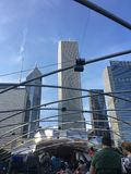Parque do milênio do ` s de Chicago fotos de stock royalty free