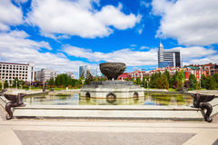 Parque do milênio de Kazan Fotografia de Stock Royalty Free