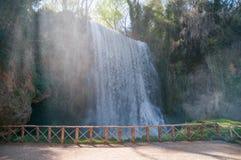Parque do monaterio de Piedra Foto de Stock