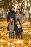 Parque do outono da caminhada foto de stock royalty free