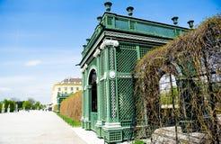 Parque do palácio de Schonbrunn Fotografia de Stock Royalty Free