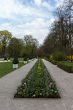 Parque do palácio novo em Bayreuth, Alemanha, 2015 Foto de Stock Royalty Free