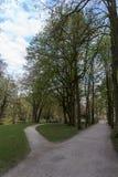 Parque do palácio novo em Bayreuth, Alemanha, 2015 Fotos de Stock Royalty Free