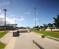 Parque do patim BMX fotografia de stock royalty free