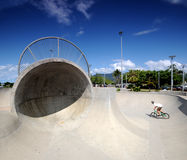 Parque do patim BMX Imagem de Stock Royalty Free