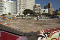 Parque do patim de Durban fotografia de stock royalty free