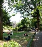 Parque do pavilhão de Brigghton em Brigghton Fotos de Stock Royalty Free