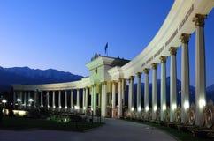 Parque do primeiro presidente de Cazaquistão em Alma-Ata no ea Imagem de Stock