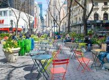 Parque do quadrado de Greeley em New York City Fotos de Stock Royalty Free