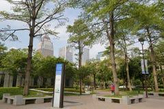 Parque do quadrado de Songshou Fotos de Stock Royalty Free