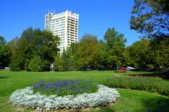 Parque do recurso de Albena, Bulgária Fotografia de Stock