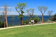 Parque do rei em Perth, Austrália Ocidental Fotos de Stock