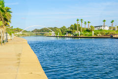 Parque do rio de Hadera Imagens de Stock Royalty Free