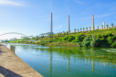 Parque do rio de Hadera Fotos de Stock
