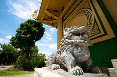 Parque do safari de Vietnam Dai Nam Fotografia de Stock