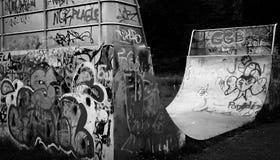 Parque do skate fotografia de stock royalty free