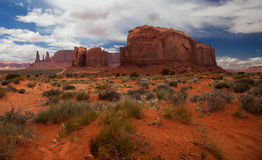 Parque do vale dos monumentos Foto de Stock Royalty Free