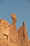 Parque dos arcos; rocha equilibrada; Utá; EUA Foto de Stock