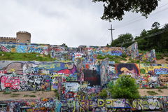 Parque dos grafittis Imagem de Stock