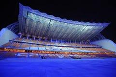 Parque dos Jogos Asiáticos de Haixinsha na noite Fotografia de Stock Royalty Free