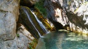 Parque dos olympos da cachoeira Imagens de Stock Royalty Free