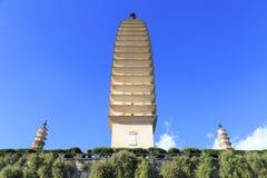 Parque dos pagodes em Dali Foto de Stock Royalty Free
