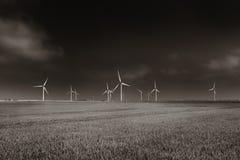 Parque eólico Fotos de archivo